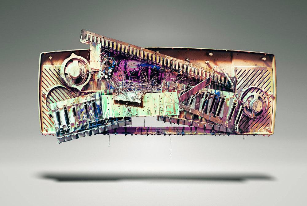 Painted Keyboard  2