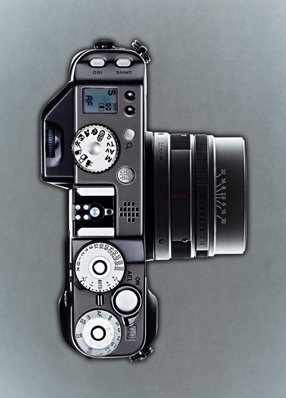 Camera above