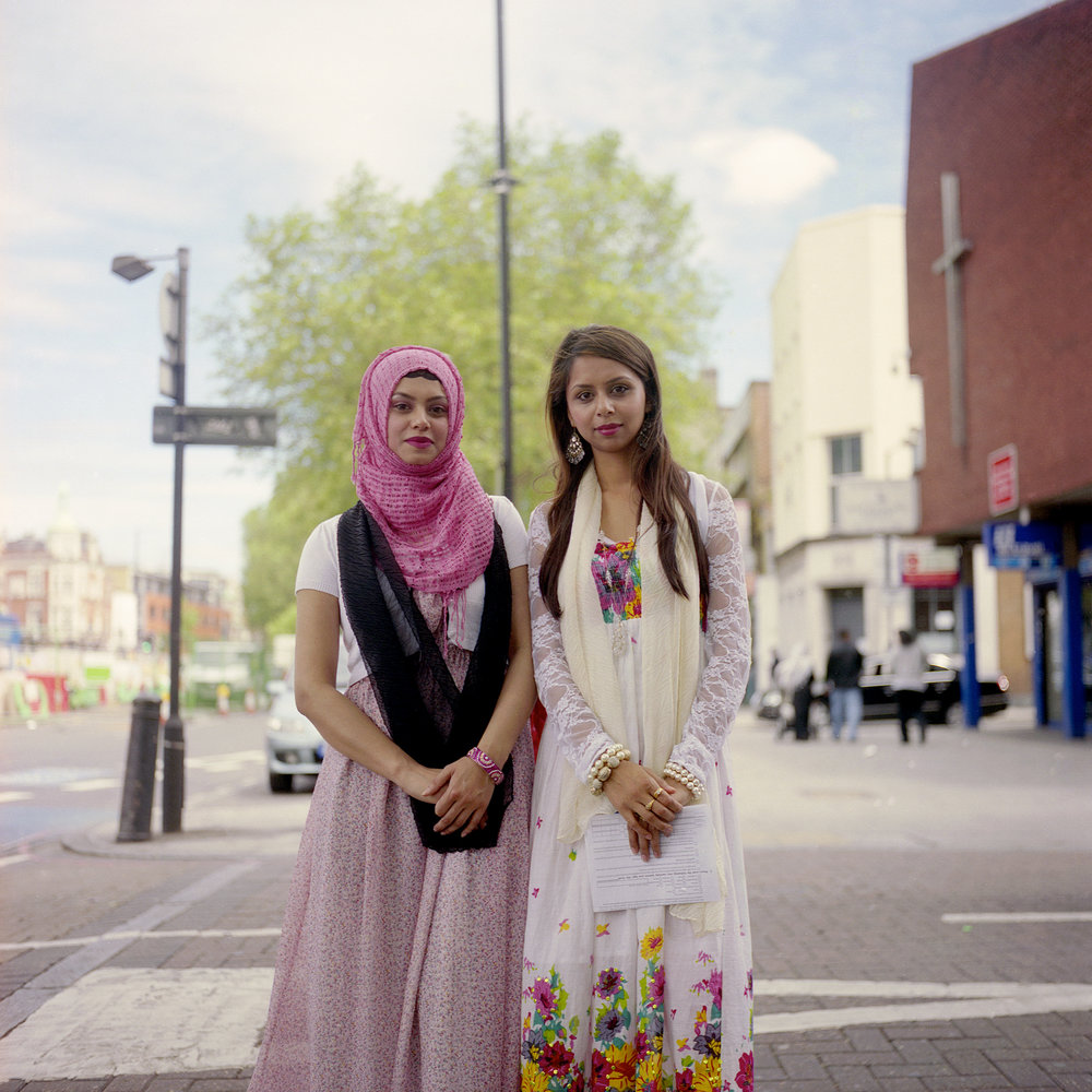 Tahira and Shazna, London, England