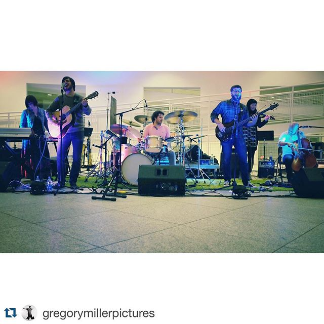 It was amazing to play to Meier's soaring room, peeking sculptures up above and so many friendly faces in the audience. Your rapt attention for the whole of that two hour set meant the world to us. Thanks @highmuseumofart for inviting us to play.  #repost @gregorymillerpictures with @repostapp. ・・・ Great to see my friends @oryxncrake and fellow #heartplussoulartist @ryanwpeoples play at the High Museum last night!
