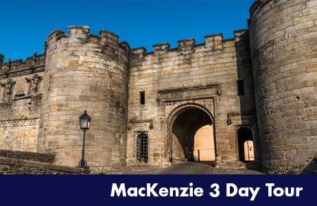 Clan MacKenzie Routes 3 day tour