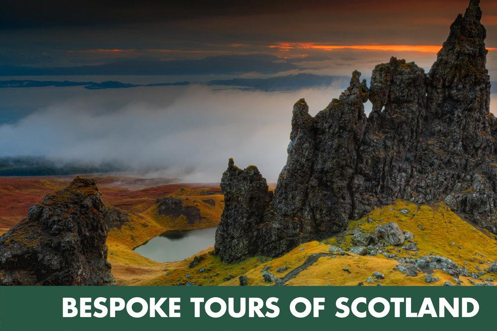 bespoke tours of Scotland
