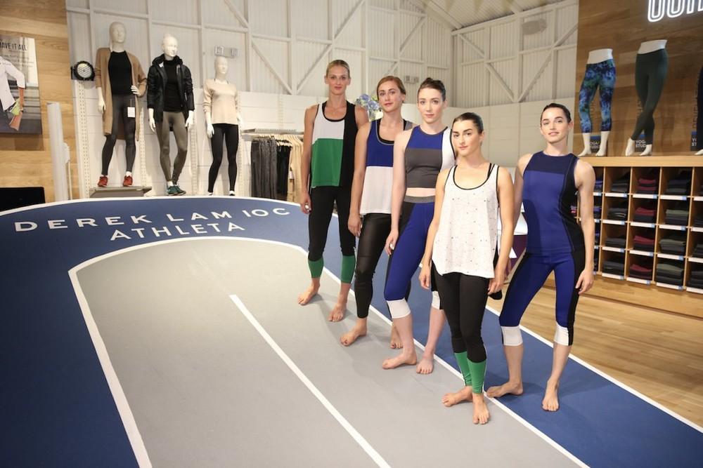 Derek Lam x Athleta 10C Collaboration for NYFW