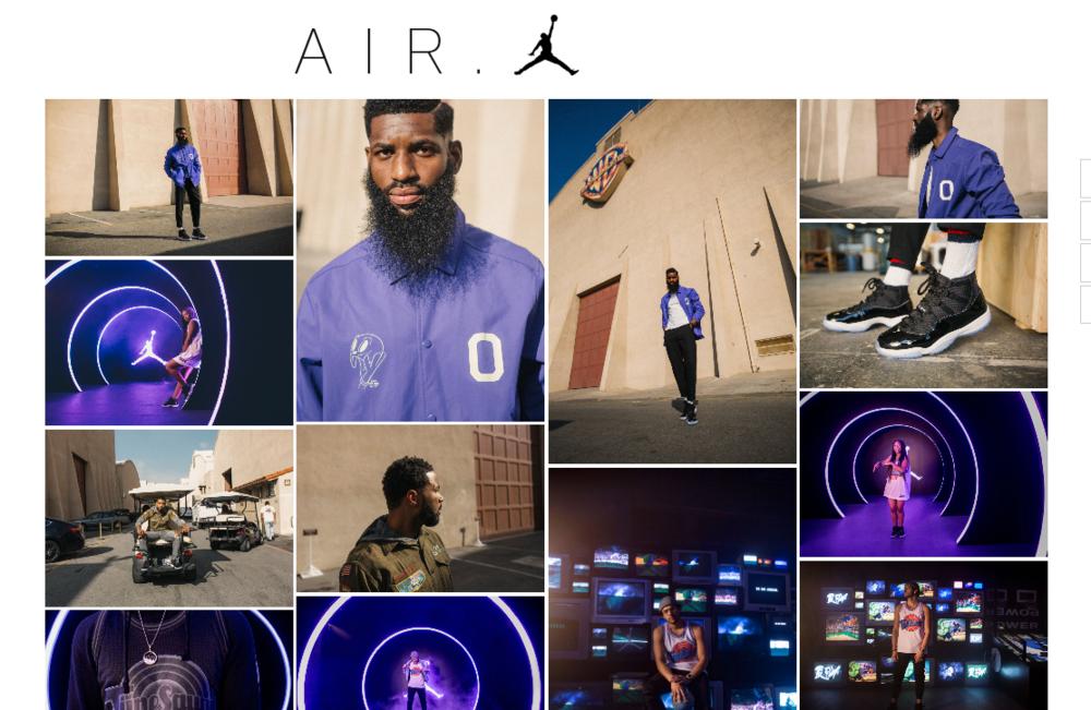 Air Jordan Lookbook December 2016