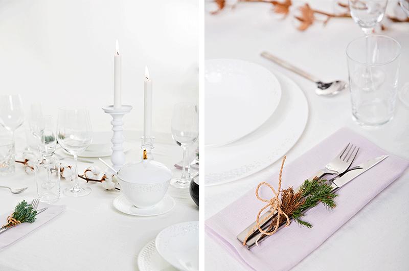 """Styling """"Hvit vinterfest"""" for Studio nr.4, 2012. Styling:  Julia Edin Design  Foto:  Vegard Giskehaug"""