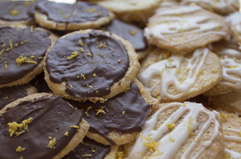 Sitronkjeks - kos midt i uka!Foto: Magevennlig mat ved Julia Edin