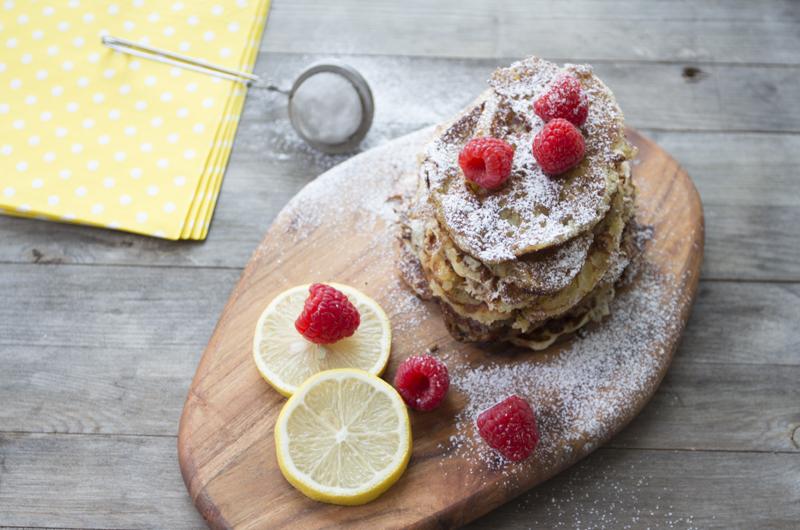 Sitronlapper . Perfekte til frokost, lunsj eller dessert.Foto: Magevennlig mat v/ Julia Edin