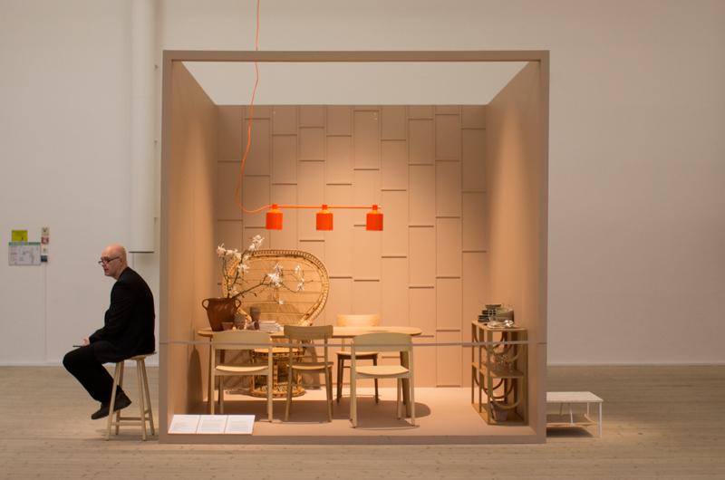 Utstillingen av Nendo designstudio på Design- og arkitekturmuseet i Stockholm.