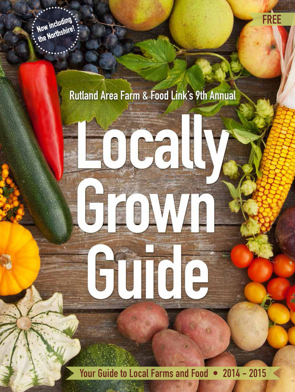 RAFFL's 2014 - 2015 Locally Grown Guide