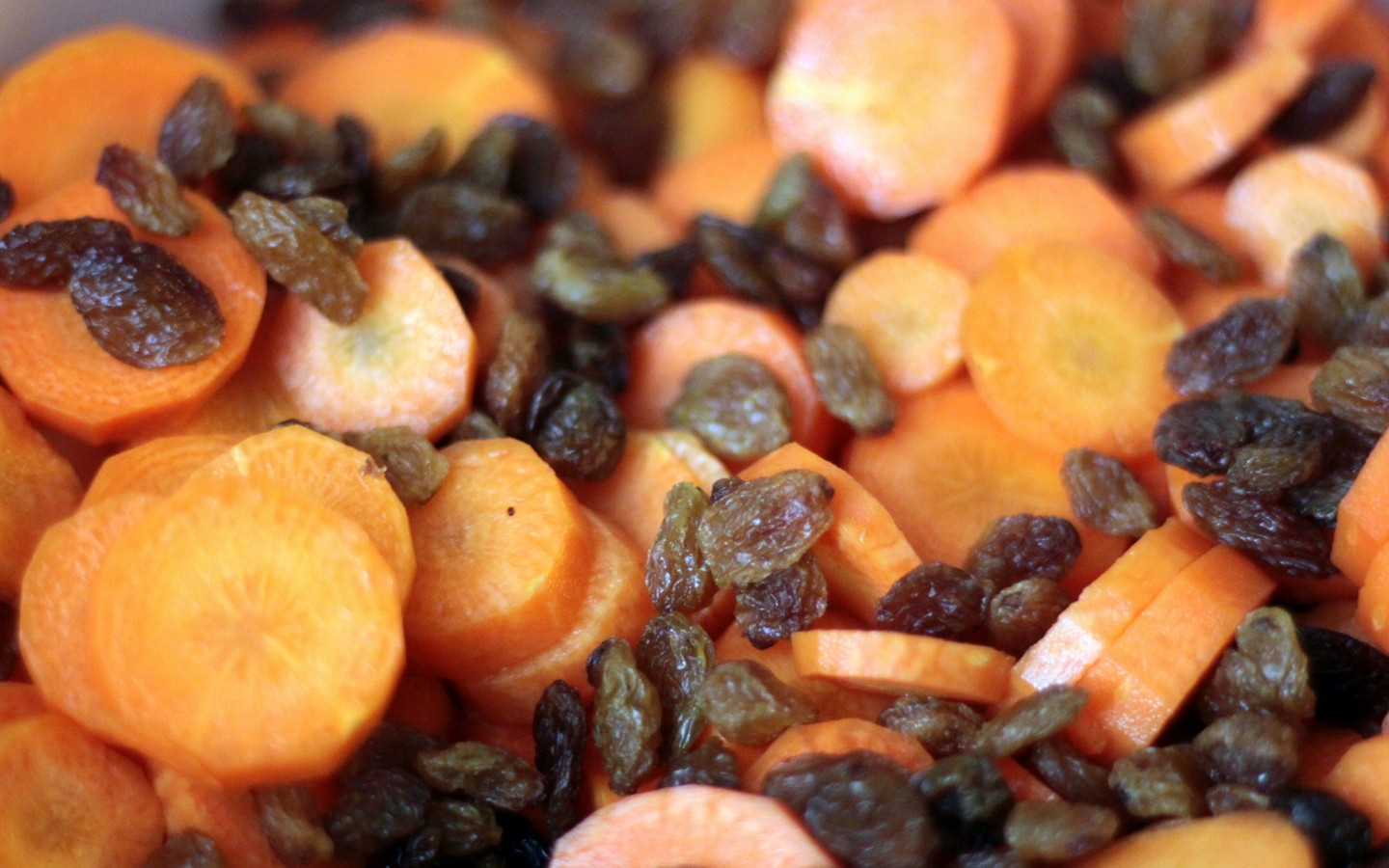 carrots and raisins