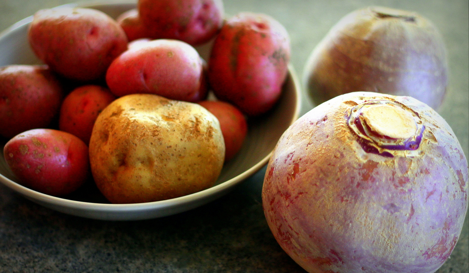 pairing rutabaga with potato