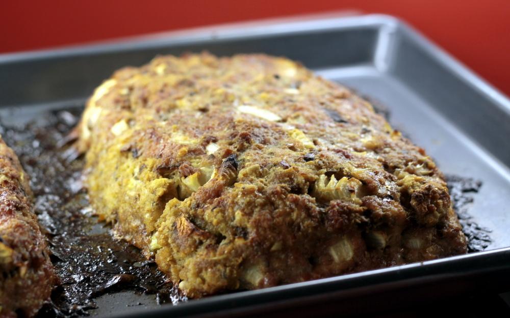 turkey beef mushroom meatloaf