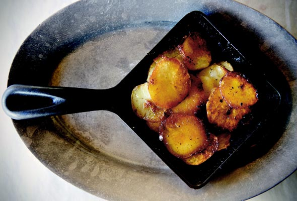 A potato dish for Julia - photo courtesy of The Pleasures of Cooking for One, Judith Jones