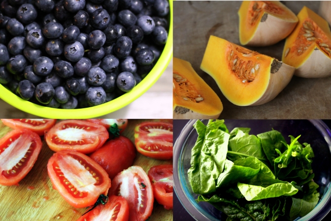Make your 2014 resolution to eat more antioxidant rich colored foods. Steve Peters/photos