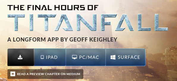 From the website for Geoff Keighley's Longform app on the development of Titanfall.