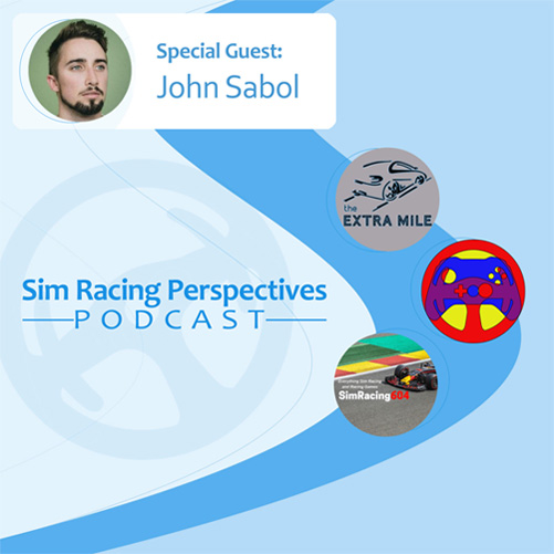 Sim Racing Perspectives Podcast: Episode 9 John Sabol — Davy