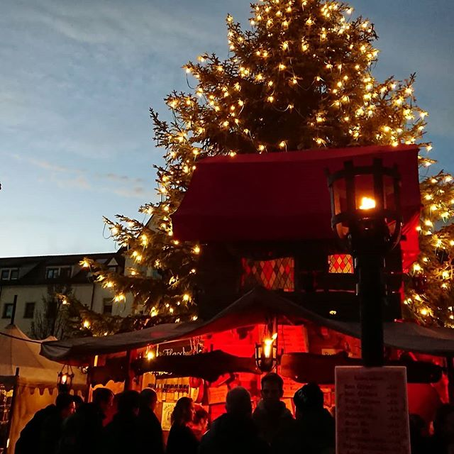 It's that time again 🎄❤️ #weinachtmarkt #neuulm