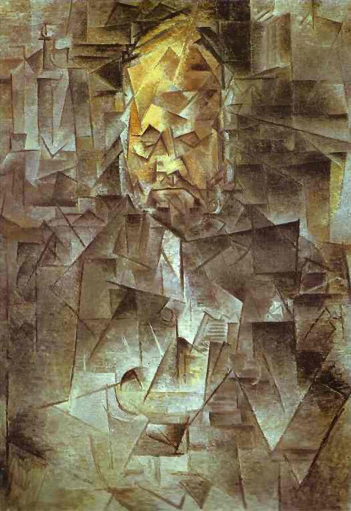 Ambroise Vollard by Picasso - 1910