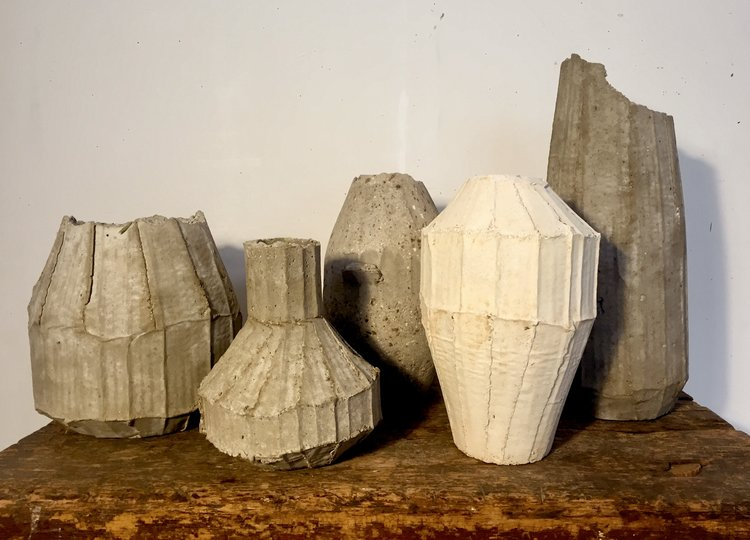 Cement Vase Making With Artist Melora Kuhn Instar Lodge