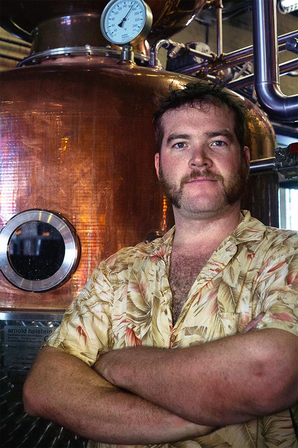Tyler Joyce  Master Distiller