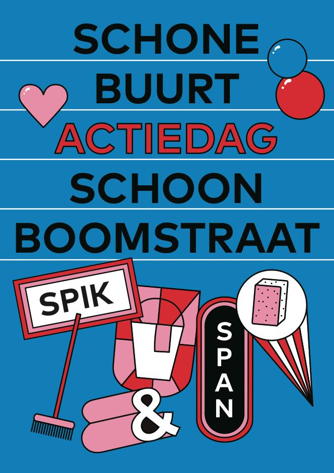 Schonebuurt Day Poster