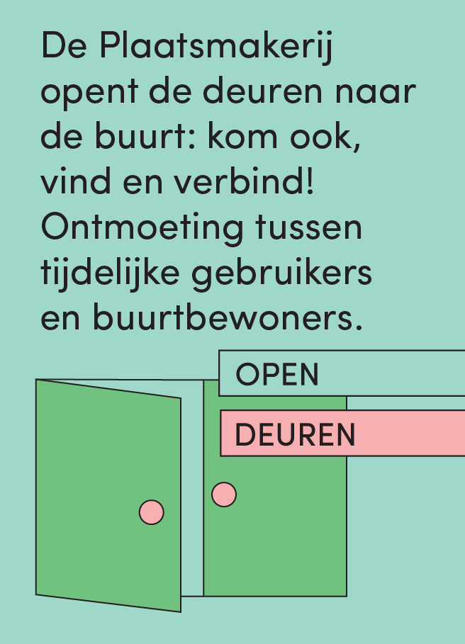 Flyer for Plaatsmakerij