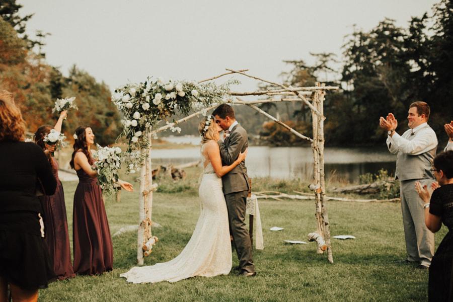 Backyard wedding on Whidbey Island a few weeks ago