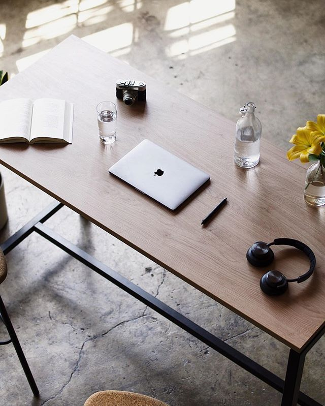 Love your workspace and you'll love your work a little more.