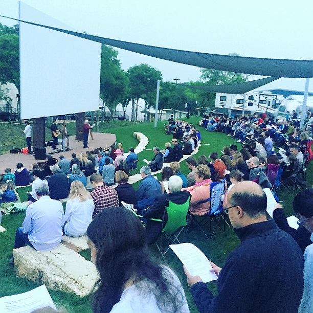 Easter Sunrise Service at the Alamo Drafthouse Amphitheater