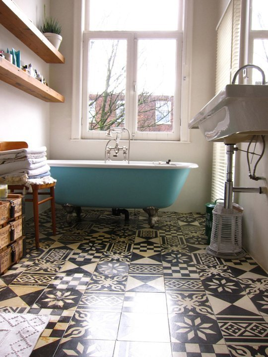 From Apartment Therapy - Bathrooms