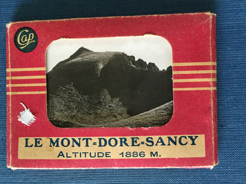 Photographs of the volcanic landscapes of Le Mont-Dore, the town where Janine and her family fled to hide from the Nazi's, collected by Janine's daughter, Muriel Hasbun. (Muriel Hasbun archive.)