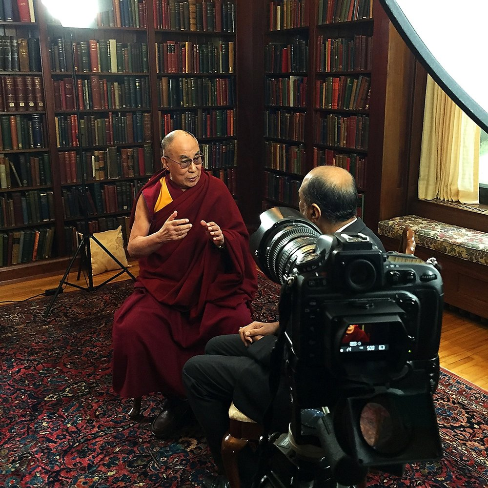 14th Dalai Lama Rochester MN Red Couch Stories film video