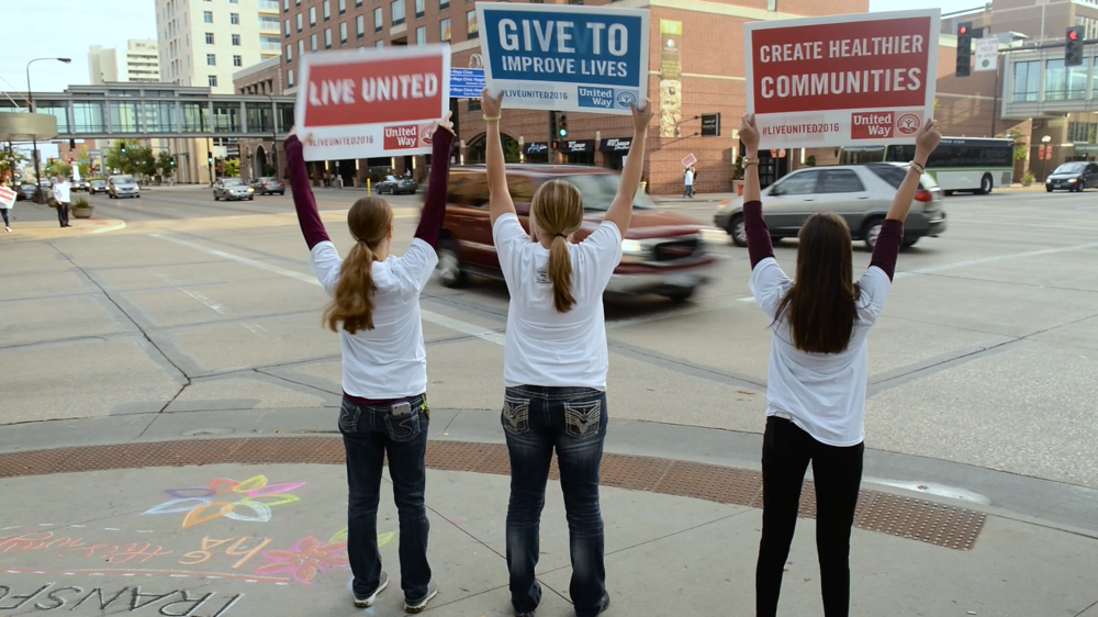 United Way of Olmsted County campaign kickoff video film by Red Couch Stories non-profit