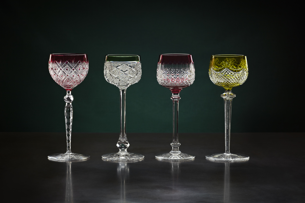 Rhine wine glasses, photographed by Patrick Shuttler