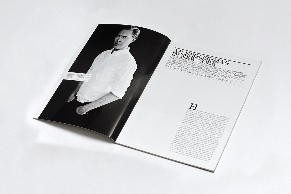 Coach Magazine, interview with Stuart Vevers by Campbell-Rey