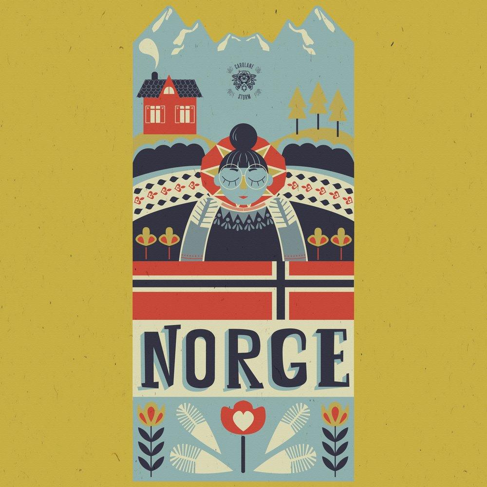 Norge mon amour. #HOMwork challenge week 12