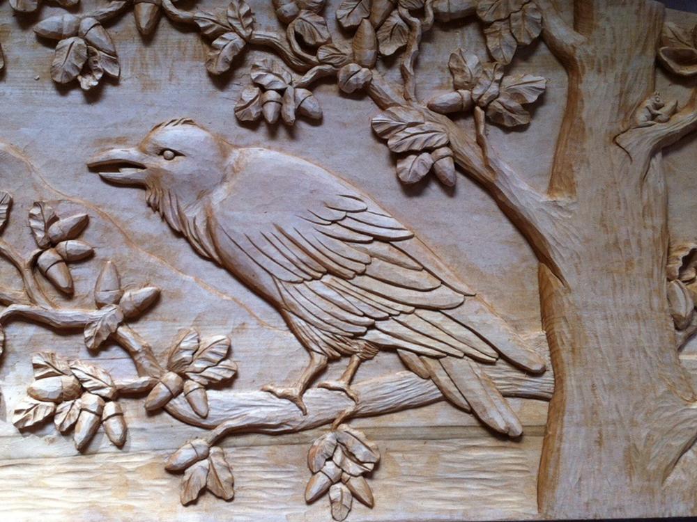 Relief carvings u judy bonzi design