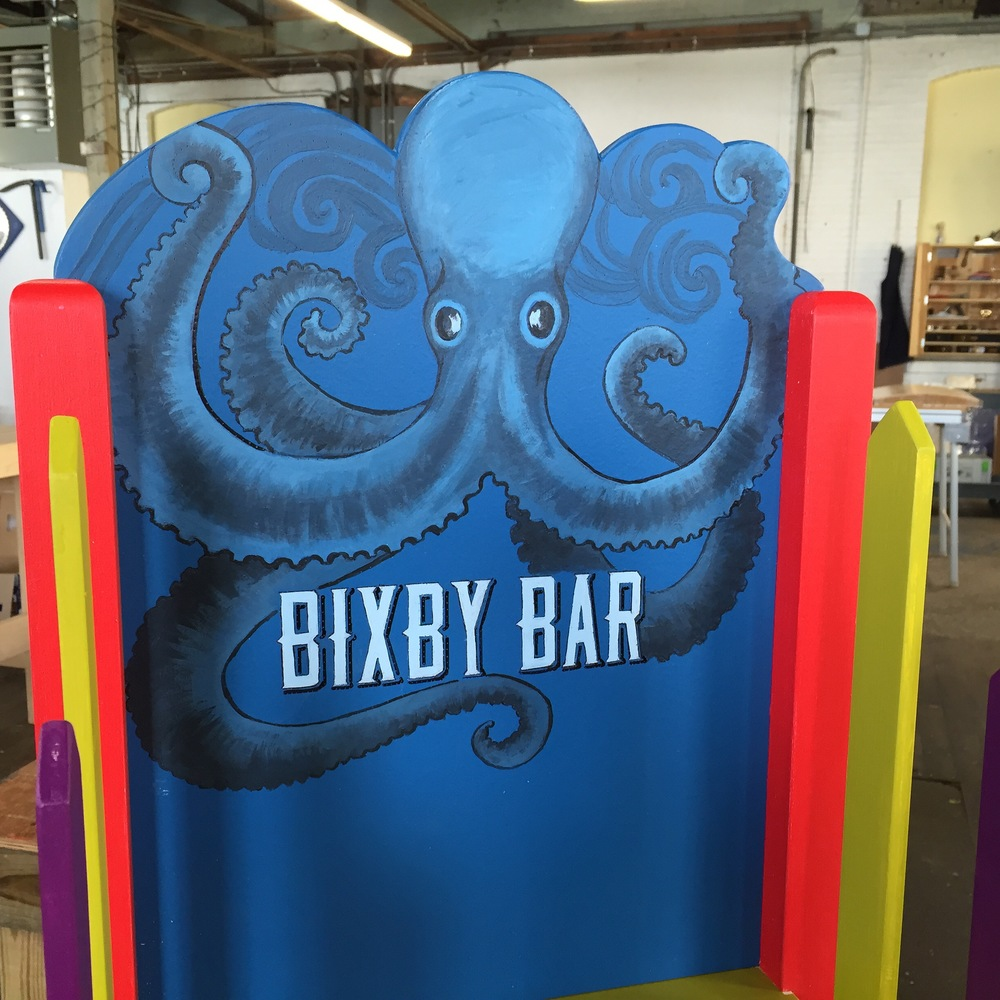 Bixby & Co Bixby Bar display stand