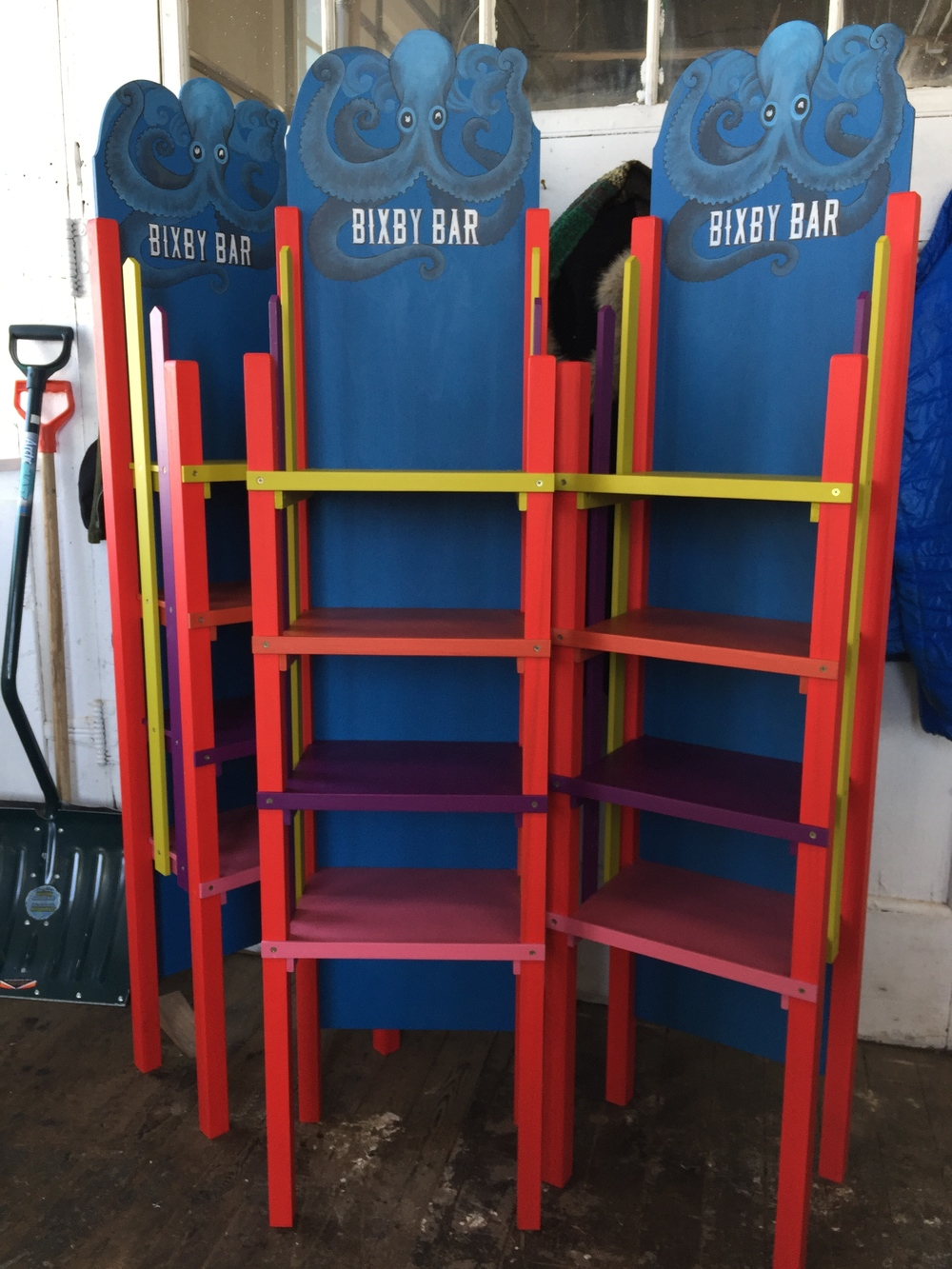 more Bixby Bar display stands