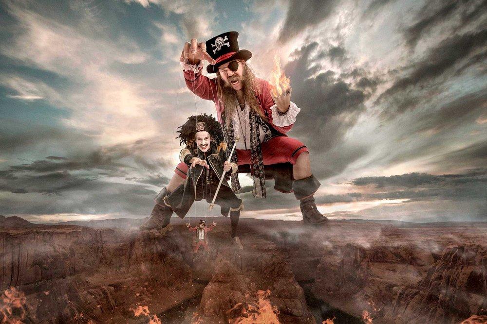 KAPTEIN RØDSKJEGG - Pirates from Moss, Norway.