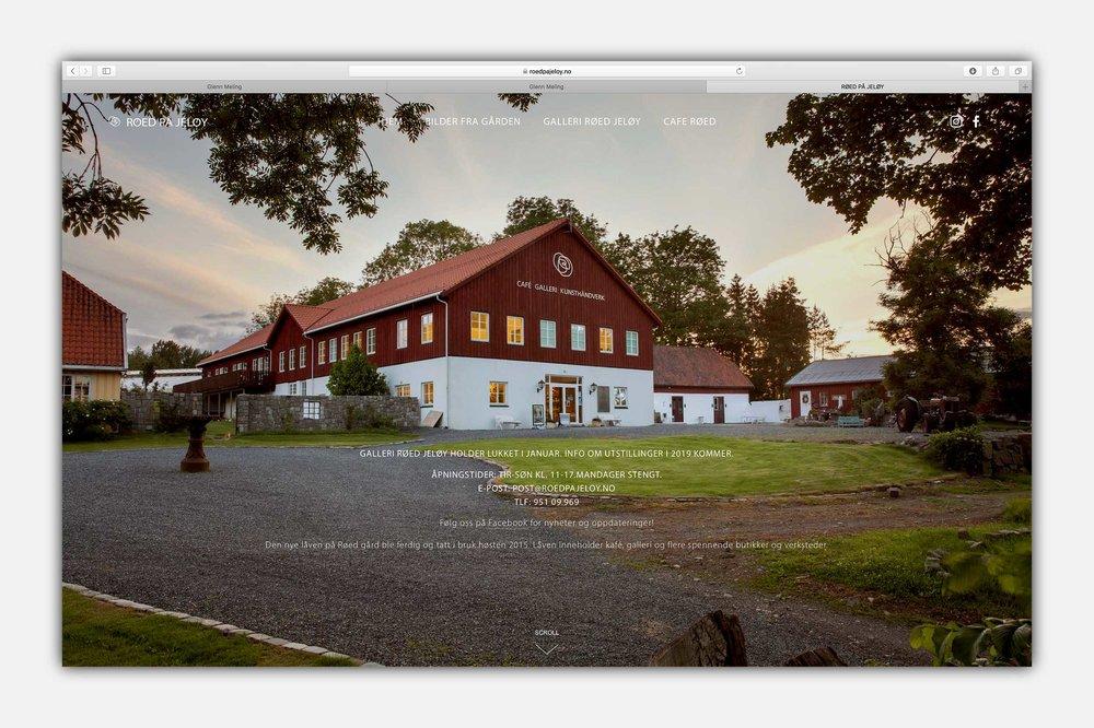 Røed på Jeløy (Røed gård) -  www.roedpåjeløy.no  | Website and images by Glenn Meling