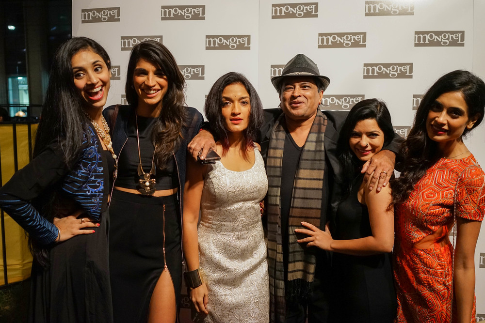 Angry Indian Goddesses from left to right: Pavleen Gujral, Anushka Manchanda, Sandhya Mridul, Pan Nalin, Rajshri Deshpande and Sarah Jane-Dias