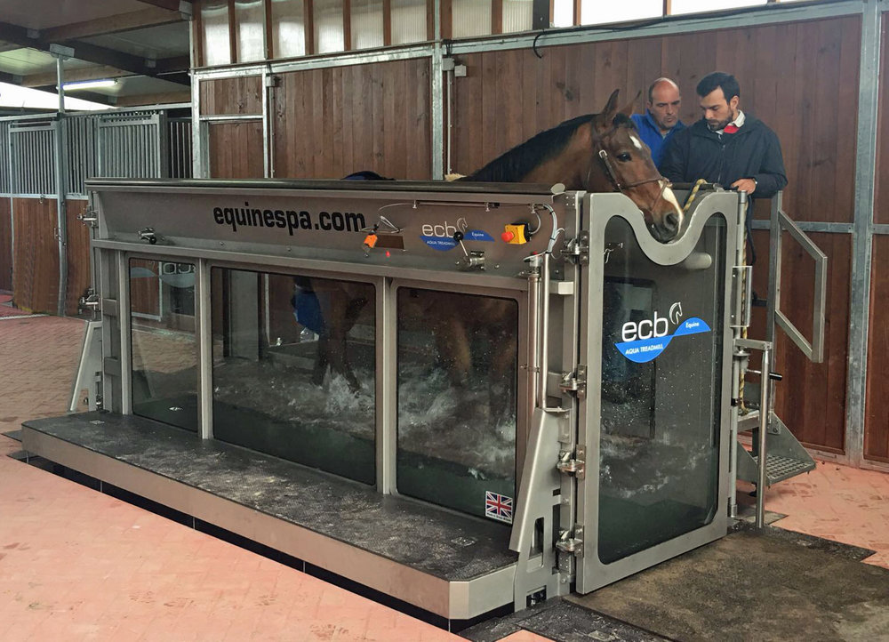 ECB Aqua Treadmill at HTS, Lisbon, Portugal