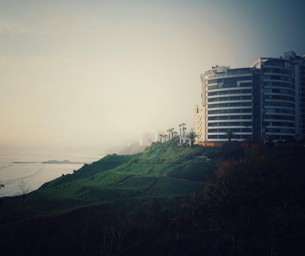 The coastline path.