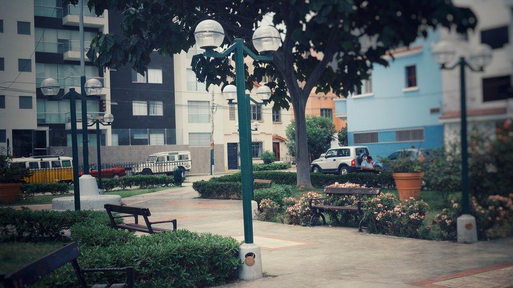 The park by Moni's