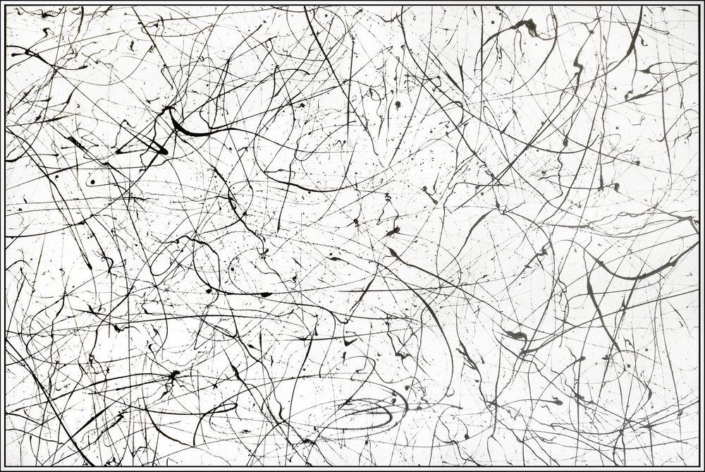 "Winter Paradise #14, 2018, acrylic on canvas, 48"" x 72"" (121.90 x 182.88 cm)"