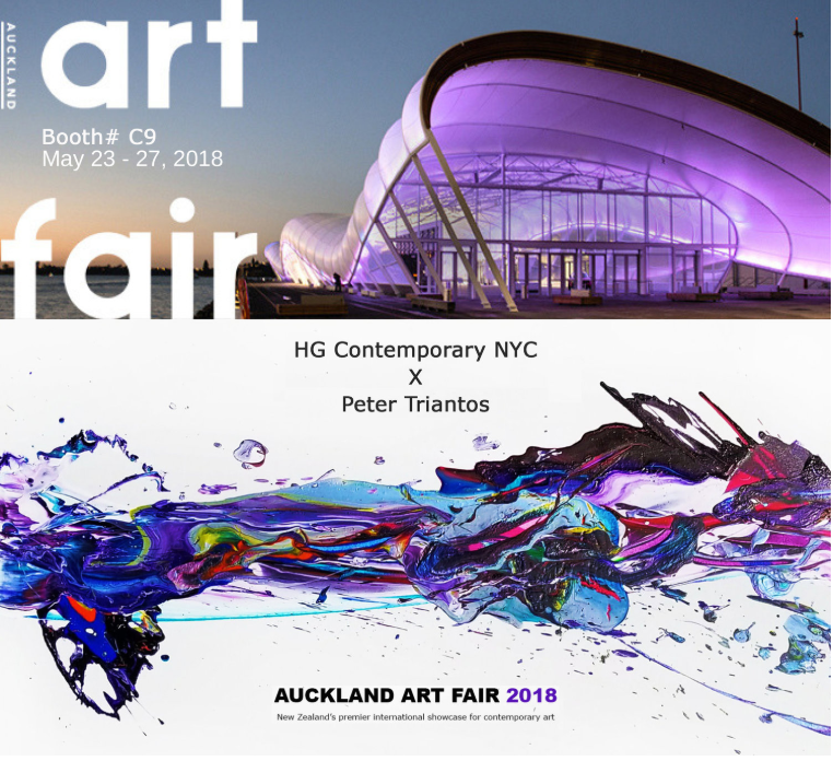 Leading showcase for contemporary art in New Zealand - Peter Triantos was thrilled to participate in the Auckland Art Fair - represented by HG Contemporary NYC this May! We were excited for Peter's work to make its debut in New Zealand and were delighted to be working with HG Contemporary, an art gallery based in New York.