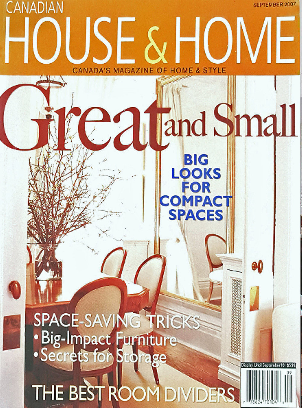 Canadian House & Home - September 2007