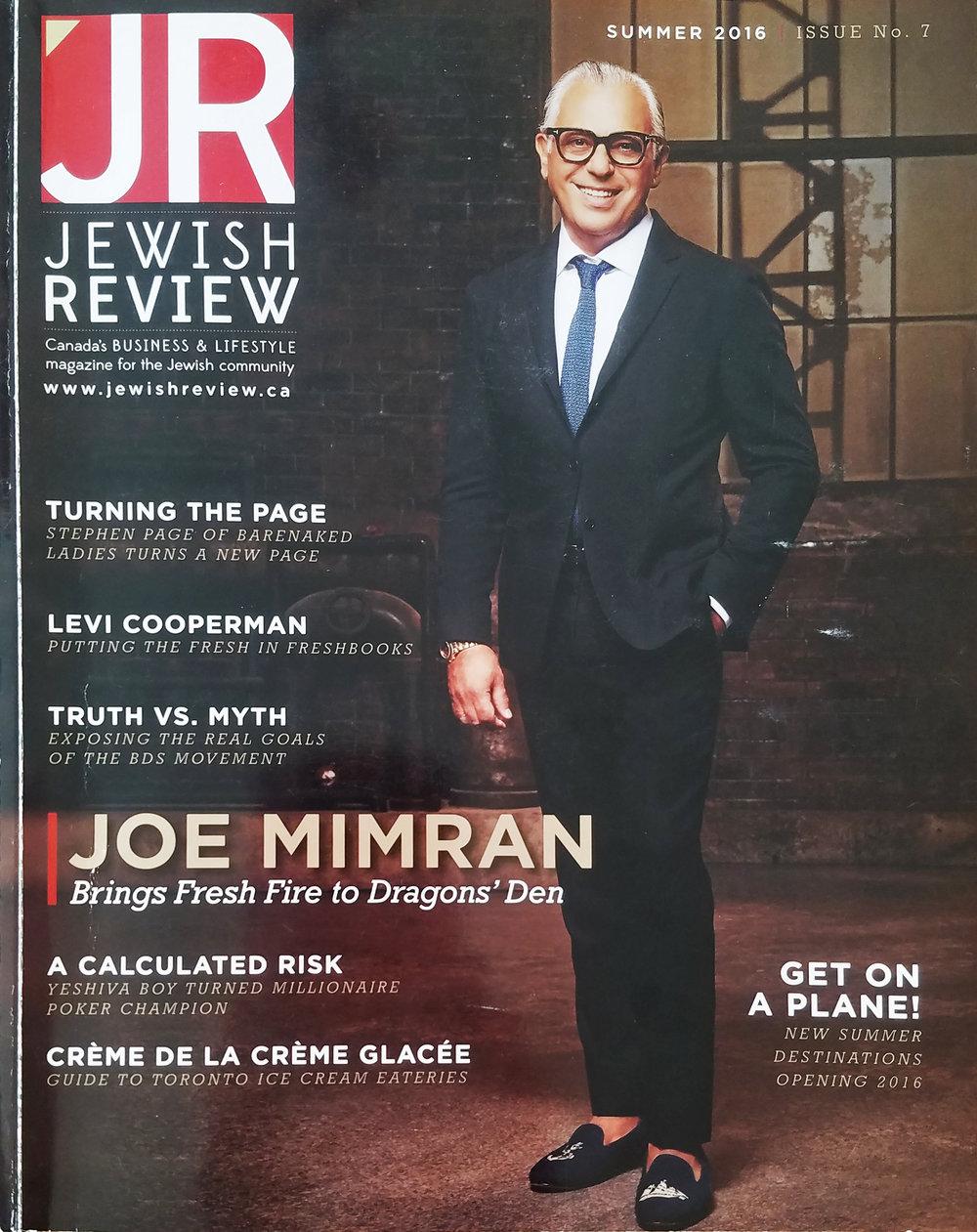 Jewish Review - Summer 2016