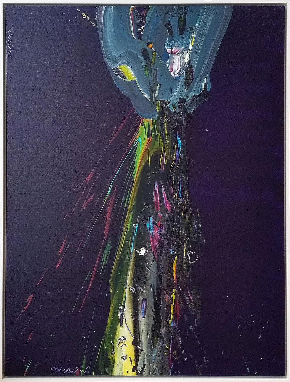 """SP² #115, 2018, acrylic on canvas, 48""""x36"""" (122 x 91.4 cm)"""